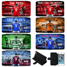 Football iPhone 6 7 Plus Phone Case Flip Cover Mens Personalised Gift AF