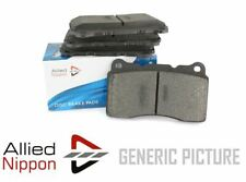 FOR SMART FORFOUR 1.1 L ALLIED NIPPON REAR BRAKE PADS SET BRAKING PADS ADB3945