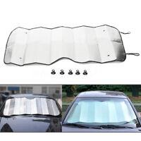 Foldable Car Windshield Visor Reflective Cover Front Rear Block Window Sun Shade