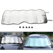 Foldable Car Windshield Visor Reflective Cover Front Rear Block Window Sun Shade