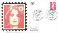 FRANCE - MARIANNE du BICENTENAIRE  -  PARIS - 1992 - FDC