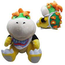 Super Mario Bros. Plush Bowser Jr. Soft Toy Stuffed Animal Doll Teddy 7in