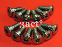 12 pcs Titanium / Ti M8 x 22mm Suzuki GSXR Disc Brake Rotor Bolt
