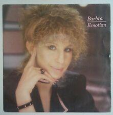 """Barbra Streisand Emotion Single 7"""" Holanda 1984"""