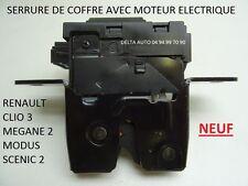 SERRURE COFFRE GÂCHE VERROUILLAGE RENAULT CLIO 3 MEGANE 2 SCENIC 2 MODUS NEUF