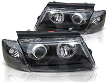 HEADLIGHTS RHD LHD LPVW26 VW PASSAT B5 3B 1996 1997 1998 1999 2000  BLACK
