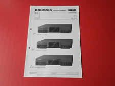 Grundig T 1, T 2, CL - T 6 orig. Service Anleitung Manual