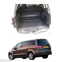 Ford Galaxy MK II 2007-15 boot dog mat load liner natural rubber heavy duty