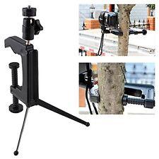 Mini Portable Swiveling C-Clamp Tripod Stand for Camera Camcorder DSLR