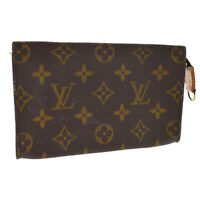 LOUIS VUITTON BUCKET PM ATTACHED POUCH PURSE MONOGRAM CANVAS AR0948 A54180