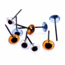 150Pairs 5mm Glass Eyes Kit For Needle Sewing Felting Bear DIY Dolls Toy Craft