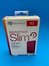 Seagate Backup Plus Slim 1TB,External,2.5 inch (STHN1000403) Hard Disk SEALED