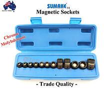 """MAGNETIC SOCKET SET 1-4"""" DR IMPACT SUMAKE JAPAN TRADE IMPACT QUALITY 5-15mm"""