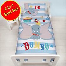 Enfants Disney Officiel Dumbo Cirque 4 en 1 Ensemble de Literie Junior Set Bébé