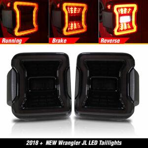 LED Tail Lights fit for Jeep Wrangler JL JLU 2018 2019 Sport Rubicon Sahara USA