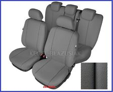Grey Tailored Seat Covers Full Set For Ford Focus Mk1, Mk2 up to 2010