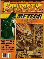 Fantastic Films 1980 January Meteor Godzilla Vintage Magazine