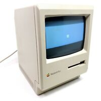 For Restoration Vintage Apple Computer Classic Macintosh Plus M0001A 1988 As-Is