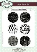 Creative Expressions A5 Clear Stamp Set-invertito Circle CEC919-Lisa HORTON