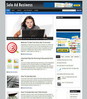 SOLO ADS UK AFFILIATE STORE & WEBSITE NEW DOMAIN + AD BANNERS + FREE HOSTING