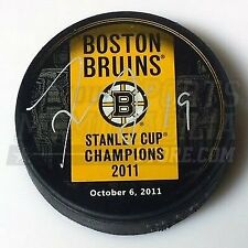 Tyler Seguin Boston Bruins Signed Stanley Cup Champions Banner Puck