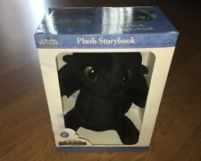 New How To Train Your Dragon Plush Storybook Zoobies Book Buddies