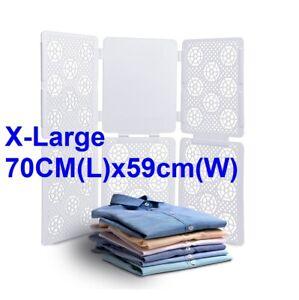 Extra Large T Shirt Folder Adult Laundry Organiser Easy Fast Flip Fold Board