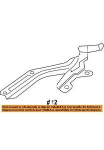 New! Acura HONDA OEM 14-16 MDX Hood-Hinge Right Part#60120TZ5A00ZZ