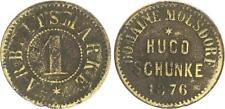 1 Arbeitsmarke Domäne Molsdorf Hugo Schunke 1876 s-ss