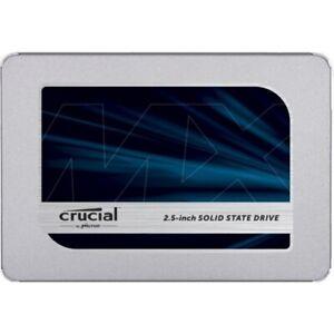 Hard Disk 2.5 SSD Crucial MX500 SATA3 da 250GB,500GB,1TB per PC e notebook