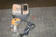RIDGID TOOLS R2401 CORDED FIXED BASE COMPACT ROUTER KIT