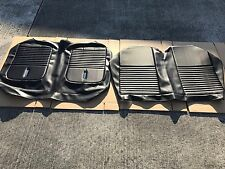 1967 Mustang Convertible Black Deluxe Rear Seat Upholstery Rear Seat Cover