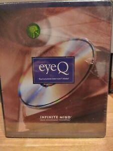 Eye Q Infinite Mind Speed Reading CD  Brain Enhancement system PC Software CD