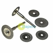 6pc Diamond Cutting Disc Set For Rotary Tool, Mini & Dremel Drills