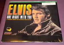 ONE NIGHT WITH YOU - LASERDISC - ELVIS PRESLEY - RARE COVER - SHRINK - EXCEL