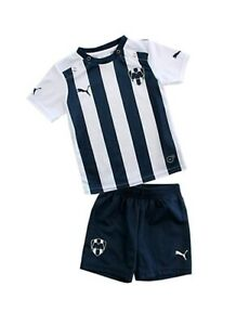 Monterrey FC local Jersey and Short baby infant kit L Large 9 to 12 months NWT