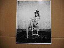 8x10 Photo - Bettie Page - Pinup Model - #BP026 - Top Hat
