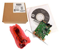 HP Hi348 IEEE 1394b PCIe Firewire Card Kit 635479-ZH1 632487-001 491886-002