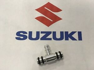 Suzuki Carb Fuel Tee,Nipple /Alum GS550, 13685-47040 '77-'79