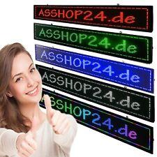 LED Laufschrift Reklame Werbeanzeige Leuchtreklame Lauflicht 136/168/200*40