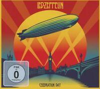 LED ZEPPELIN - CELEBRATION DAY 2 CD + DVD HARD ROCK NEU
