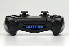 "PS4 Controller Light Bar LED Decal Aufkleber ""Augsburg"""