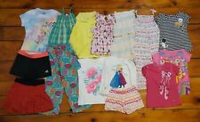 Lot of Little Girls Clothing Tops Shorts Skirt Jumper Pj Bottom 15 Pieces Size 6
