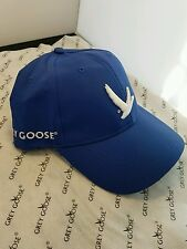 Bridgestone Golf Grey Goose Collection Heavy embroidered hat/cap Custom Blue