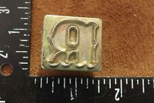LEATHER TOOLS/**CRAFTOOL ONE INCH ALPHABET REPLACEMENT LETTER STAMP ( R ) **