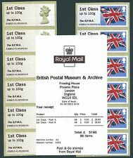 HYTECH BPMA OPT MACHIN & FLAG MARCH CODE A3GB13 6 x 1st MATCHED PAIR POST & GO