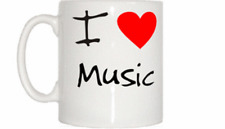 I Love Corazón Música Taza