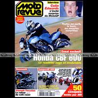 MOTO REVUE 3607 DUCATI 749 TRIUMPH DAYTONA THRUXTON HONDA CBF CBR 600 RR 2004