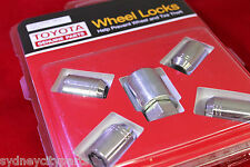 TOYOTA 86 WHEEL LOCK NUTS ZN6 GT GTS FROM APRIL 2012> NEW GENUINE ACCESSORY