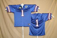 FLORIDA GATORS   Nike    #1   FOOTBALL JERSEY    XL    NWT    blue  $60 retail